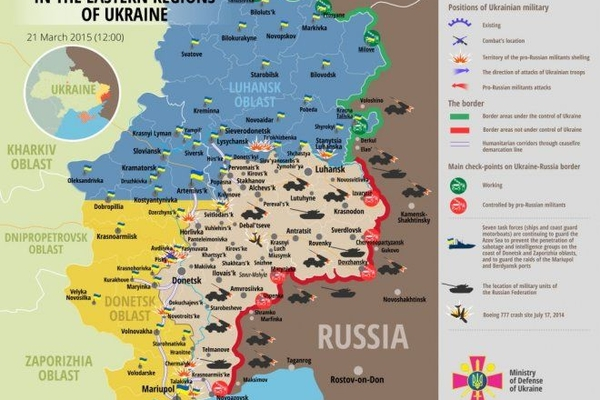 Ukraynanın Donbasda 2 əsgəri həlak olub