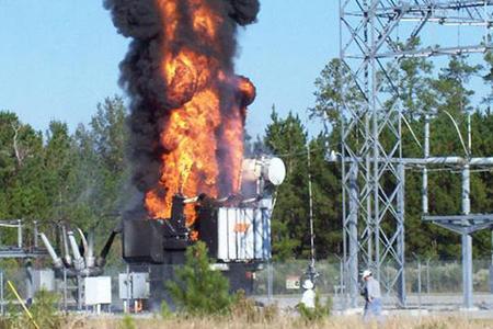 Sabirabadda transformator alışaraq yandı