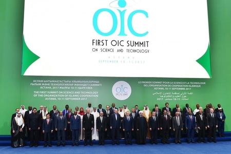 Prezident İlham Əliyev İslam Əməkdaşlıq Təşkilatının sammitində iştirak edir - FOTOLAR