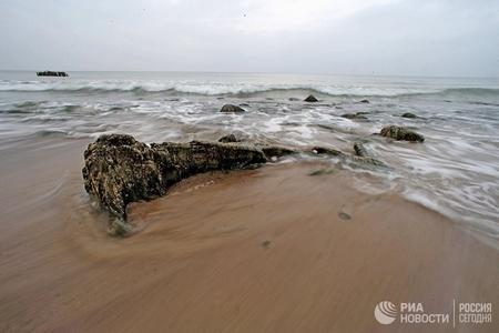 Polşa gəmisi Baltika dənizində batıb