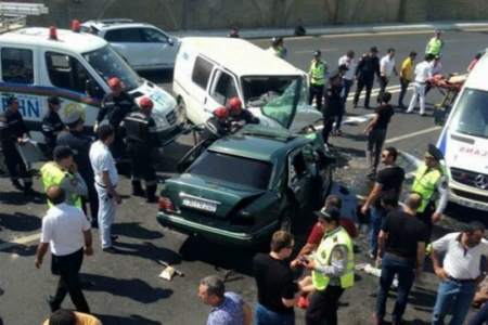 Azərbaycanda 4 nəfərin ölümünə səbəb olan sürücü azadlığa çıxdı