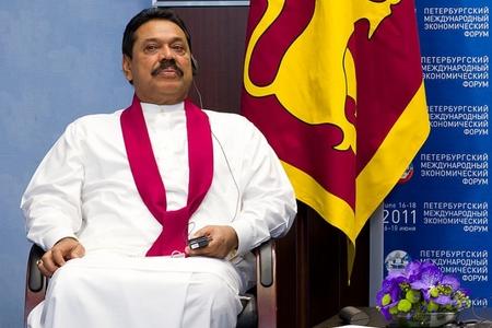 Şri-Lankanın baş naziri istefa verib