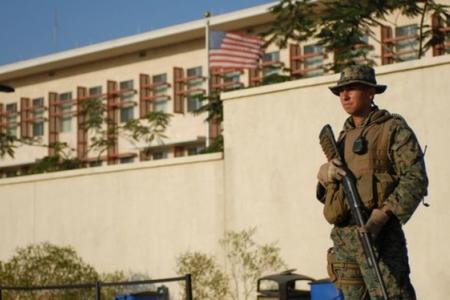 ABŞ-ın Haitidəki səfirliyi yaxınlığında atışma olub - FOTO