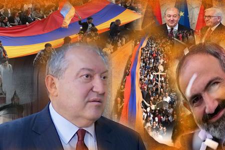 Erməni prezidenti Berlində rüsvay oldu -