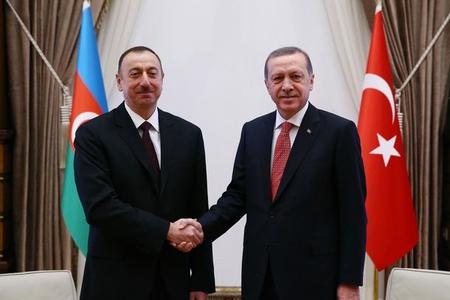 Türkiyə və Azərbaycan prezidentləri arasında görüş keçirilib