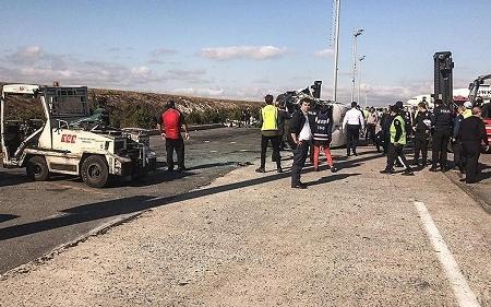 Atatürk hava limanında qəza nəticəsində 9 nəfər yaralanıb