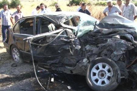 Ağdaşada ağır yol qəzası - 1 ölü 3 yaralı