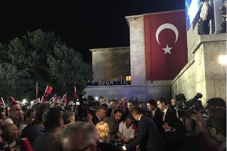 15 İyul hadisəsinin ildönümü münasibətilə keçirilən mitinqdə 6 nəfər yarala ...