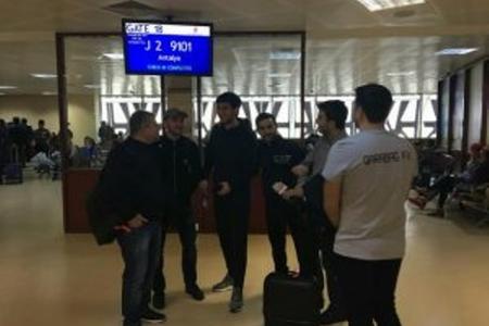 """""""Qarabağ"""" Türkiyəyə yola düşdü"""