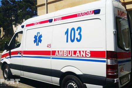 Salyanda ağır yol qəzası: 2 nəfər ölüb, 1 nəfər yaralanıb