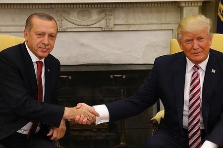 Türkiyə prezidenti Donald Trampla görüşüb