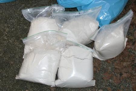 Çin polisi yarım ton metamfetamin müsadirə edib