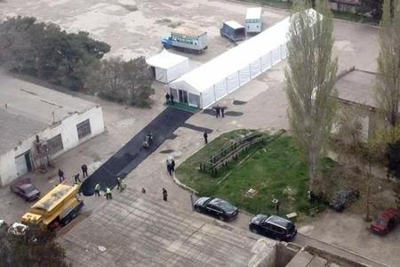 Günün fotosu: Ən uzun çadır və ən yeni asfalt