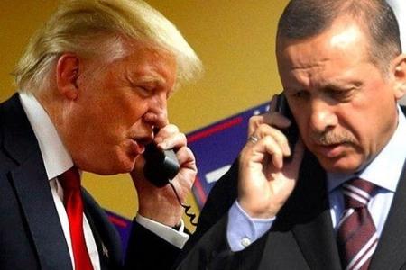 Ərdoğan və Tramp arasında telefon danışığı olub