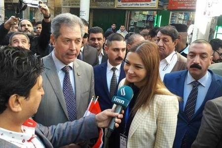 Qənirə Paşayeva İraqda media qurumlaırna Qarabağ həqiqətlərindən danışıb