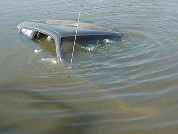 Kürdəmirdə kanala aşan maşının sürücüsü öldü