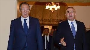 Çavuşoğlu və Lavrov İstanbulda görüşdülər