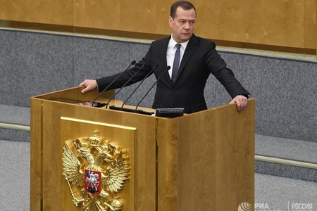 Dmitri Medvedev Rusiyanın baş naziri vəzifəsinə təsdiqlənib