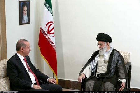 İranın Ali lideri ilə Türkiyə prezidenti arasında görüş keçirilib