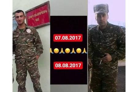 Ordudan qayıdan erməni əsgərlər öldü
