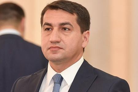 Hikmət Hacıyev: Azərbaycan şəhidlərinin qanı yerdə qalmayıb və onların qisası layiqincə alınır