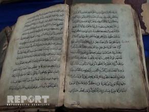 Qafqaz müsəlmanlarının III şeyxülislamına məxsus 250 yaşlı iki Quran kitabı tapılıb
