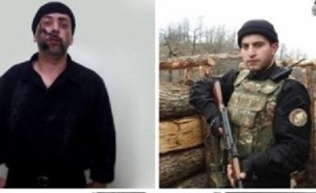Qazaxda tutulan erməni xüsusi təyinatlısının FOTOLARI
