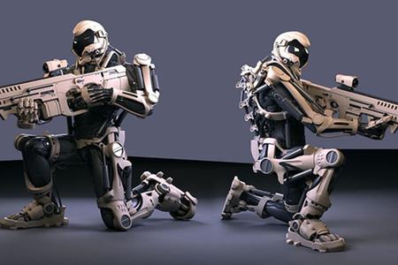 İnsan yerinə robot əsgərlər vuruşacaq...