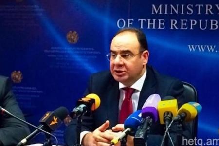 Ermənistan səhiyyə nazirinin keçmiş müavini tutulub