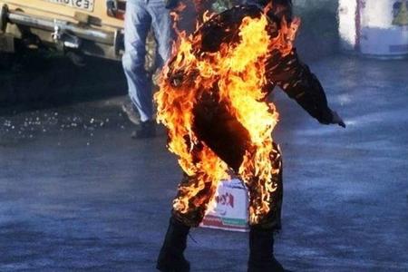 Gəncədə 38 yaşlı kişi özünü yandırıb - YENİLƏNİB