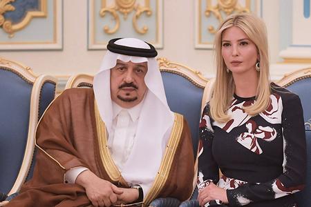 Ərəb biznesmen Trampın evli qızına elçi düşdü - Video