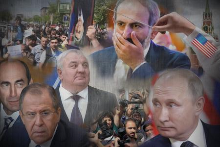 """Kremlin əks-inqilab ssenarisi - """"Paşinyanın vaxtına az qalıb..."""""""