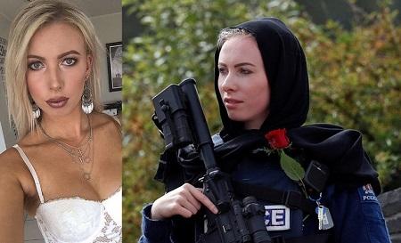 Yeni Zelandiya terrorunun qurbanlarına sayğı göstərən qadın polis dünya gündəmində... - FOTOLAR
