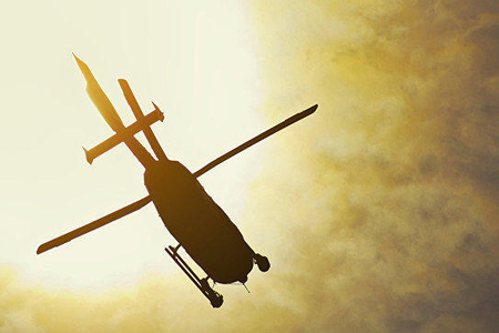 Efiopiyada hərbi helikopter qəzaya düşüb - 18 ölü
