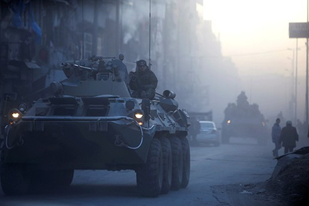 Suriyanın Deraa əyalətində üsyançılar silahlarını təhvil verməyə razılaşıblar