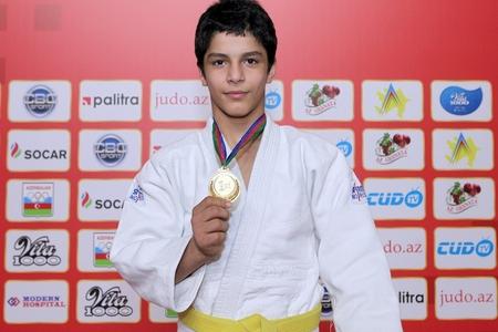 Azərbaycanın yeniyetmə cüdoçusu Olimpiya Oyunlarında qızıl medal qazanıb