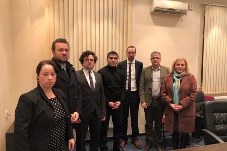 Əcnəbi diplomatlar Mehman Hüseynovla görüşdülər