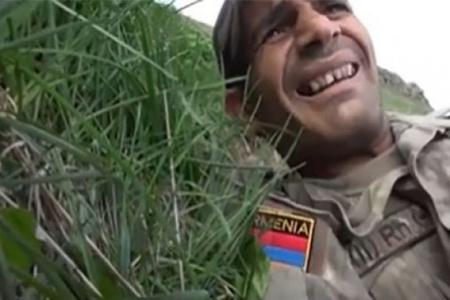 Azərbaycanlı snayper erməni zabitləri qanına qəltan etdi