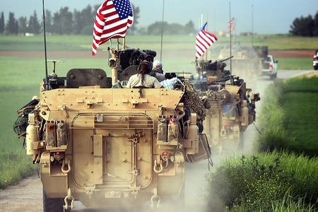 ABŞ Suriyada PKK-ya silah yardımı etdiyi anbarı boşaltdı