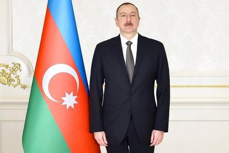 Prezident İlham Əliyev Qax rayonuna səfərə gedib