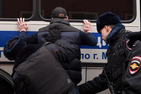 Moskvada tutulan aksiya iştirakçılarının sayı açıqlanıb