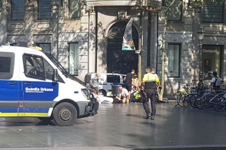 Barselona polisindən terrorçuların türk restoranına girməsi xəbərinə reaksiya