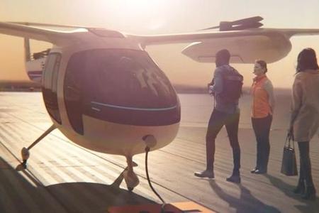 Uçan taksinin prototipi nümayiş olundu – VİDEO