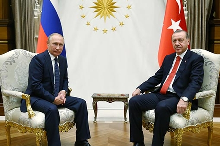 Ankarada Türkiyə və Rusiya prezidentləri arasında təkbətək görüş başa çatıb