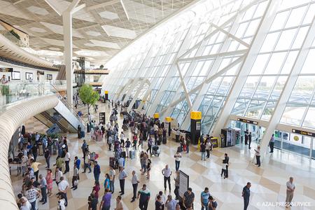 Heydər Əliyev aeroportu 2018-ci ilin on ayı ərzində 3,8 milyon sərnişinə xidmət göstərib
