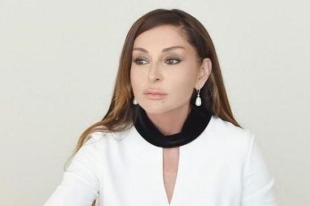 Mehriban Əliyeva qaziyə bu evi bağışladı (FOTOLAR)