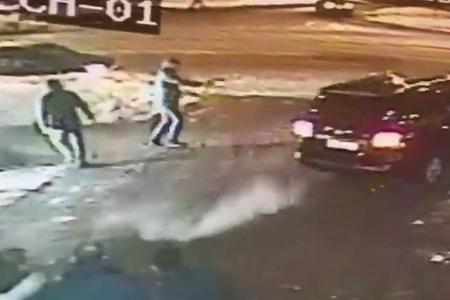 """Moskvada azərbaycanlılar arasında silahlı insident: """"Oğru dünyası"""" qarışdı - VİDEO"""
