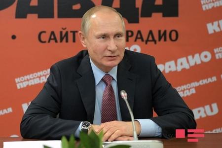 """Putin: """"Suriyadakı bazalarımıza hücumla Türkiyənin heç bir əlaqəsi yoxdur"""