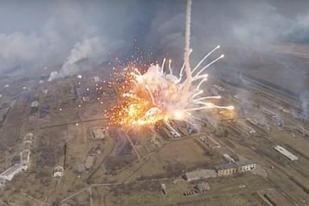 Ermənistan ordusunun silah anbarında partlayış olub, 12 nəfər ölüb, xeyli s ...