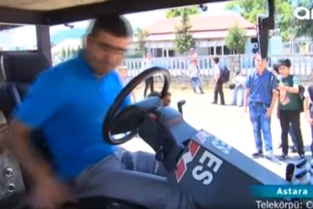 Astaralı gəncdən qeyri-adi avtomobil ixtirası – VİDEO